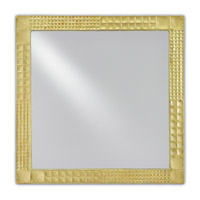 Suvi 24 X 24 inch Brass Mirror Home Decor