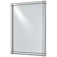 Monarch 40 X 30 inch Painted Silver Viejo/Light Antique Mirror Wall Mirror