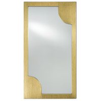 Morneau 48 X 26 inch Brass and Mirror Wall Mirror, Large