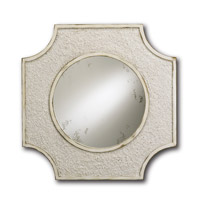 Endsleigh 28 X 1 inch Natural/Antique White Wall Mirror