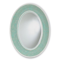 Eos 31 X 23 inch Aqua Mirror Home Decor