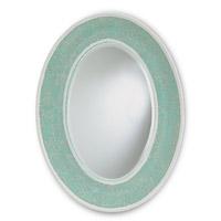Currey & Company Eos Mirror in Aqua 1009 photo thumbnail