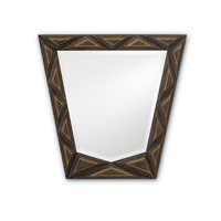 Currey & Company Tramp Art Mirror in Multi-Colored Tramp 1054