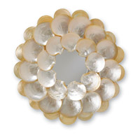 Currey & Company Mother-of-Pearl Mirror in Natural 1067