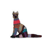 Currey & Company Foxie Loxie Decorative Accessory in Multi Color 1071