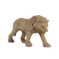 Currey & Company Leo the Lion Decor in Natural 1073