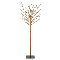 Currey & Company Twiggy Tall Decor in Cast Iron/Natural 1076