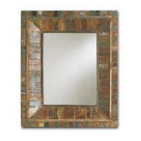 Currey & Company Devotee Mirror in Natural 1078 photo thumbnail