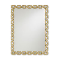 Currey & Company Betty June Mirror in Metallic Gold 1082 photo thumbnail