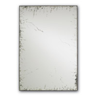 Rene 34 X 24 inch Pyrite Bronze/Antique Mirror Wall Mirror