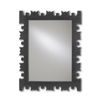 Currey & Company Legato Mirror in Rustic Charcoal 1094
