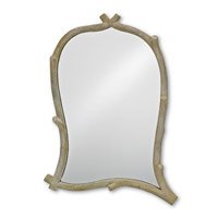 Currey & Company Creekside Mirror in Faux Bois 1103
