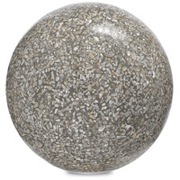 Abalone Abalone Concrete Ball Decorative Accent, Small