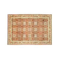 Currey & Company Khyber Rug in Rust Red 1517
