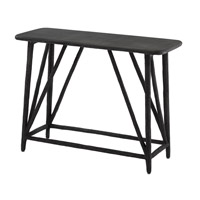 Arboria 40 inch Distressed Black Console Table Home Decor