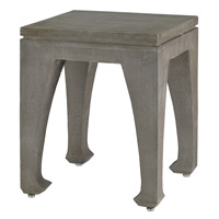 Ming 18 inch Brushed Gray Table Home Decor