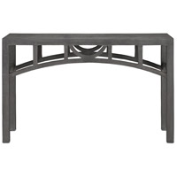 Colesden 52 inch Dark Gray Console Table Home Decor