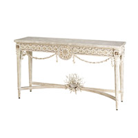 Devereux 19 X 19 inch Natural/ Washed White Console Table Home Decor
