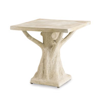 Currey & Company Stillwood Table in Light Acid Wash 2032