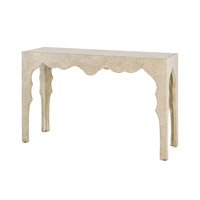 Currey & Company Casablanca Console Table in Fauxbois 2036