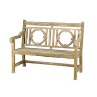 Currey & Company Leagrave Bench in Portland 2385