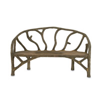 Arbor Faux Bois Bench Home Decor