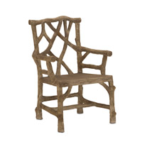 Woodland Faux Bois Arm Chair Home Decor