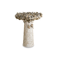 Oyster Shell Natural Birdbath Home Decor