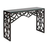Nador 51 X 16 inch Dark Mahogany Console Table Home Decor