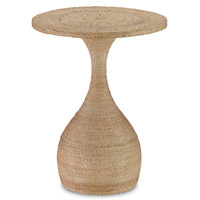 Currey & Company Simo Accent Table in Natural 3000-0013