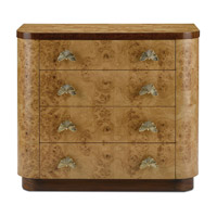 Tadley Pecan /Antique Brass Chest