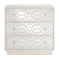 Alisa Marshmallow Drawer Chest, 3 Drawers