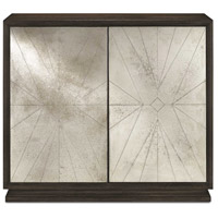 Currey & Company 3000-0093 Darcy Dove Gray and Antique Mirror Cabinet