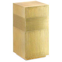 Odense 24 X 12 inch Brass Accent Table