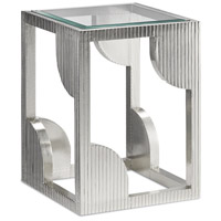 Morneau 24 X 18 inch Silver Side Table