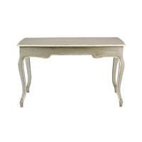 Currey & Company 3049 Salon 51 X 28 inch French Gray/Cream Writing Desk Home Decor alternative photo thumbnail