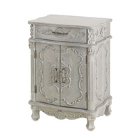 Currey & Company Caliban Cabinet in Cloudy Sky 3208