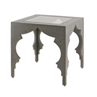 Currey & Company Waldo Drinks Table in Cloudy Sky 3211