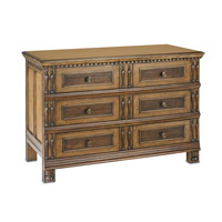 Tappahannock Oak and Ebony Veneers and Verona Walnut Chest