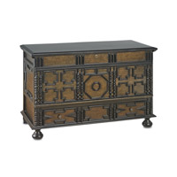 Currey & Company Rioja Chest in Medici Charcoal 3232