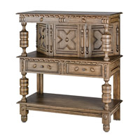 Currey & Company Jacques Sideboard in Distressed Cocoa 3234