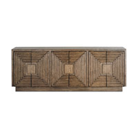 Currey & Company Morombe Credenza in Distressed Cocoa 3252