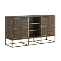 Holden Weathered Acacia with Walnut Stain Credenza