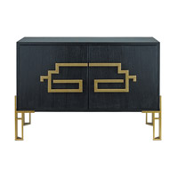 Zhin II 49 inch Caviar Black and Lapis Blue Sideboard