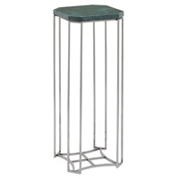 Seren 9 X 9 inch Polished Nickel / Green Drinks Table Home Decor