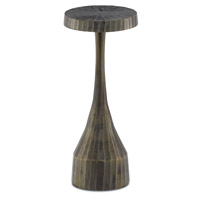 Luca 10 inch Vintage Brass Drink Table Home Decor