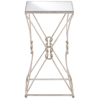 Ariadne 24 X 14 inch Contemporary Silver and Antique Mirror Side Table