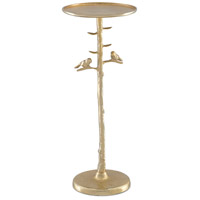 Currey & Company 4000-0063 Piaf 10 inch Gold Drinks Table