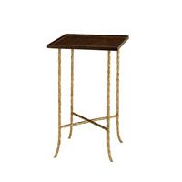 Currey & Company Gilt Twist Table in Gilt Bronze 4054