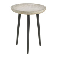 Currey & Company Campo Table in Light Acid and Satin Black 4161